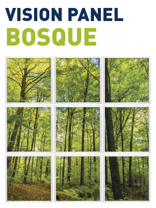 Vision Panel led Ambient modelo bosque