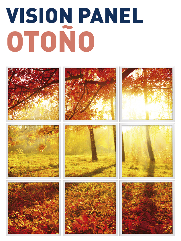 Vision Panel led Ambient modelo otoño