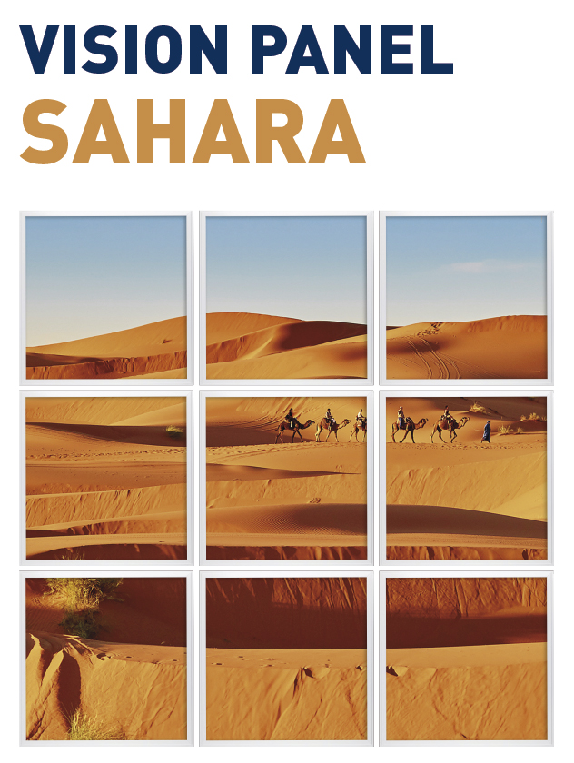 Vision Panel led Ambient modelo sahara