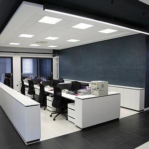 Paneles led para oficinas collingwood lighting